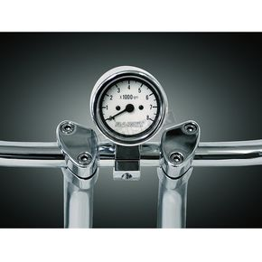 Baron Custom Accessories 3 in. Bullet LED Tachometer for 1 in. Bars - BA-7570-05