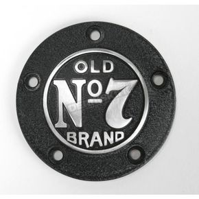 Jack Daniels Black Powder-Coated Old Brand No. 7 5-Hole Timer Cover - JDA02P01TC