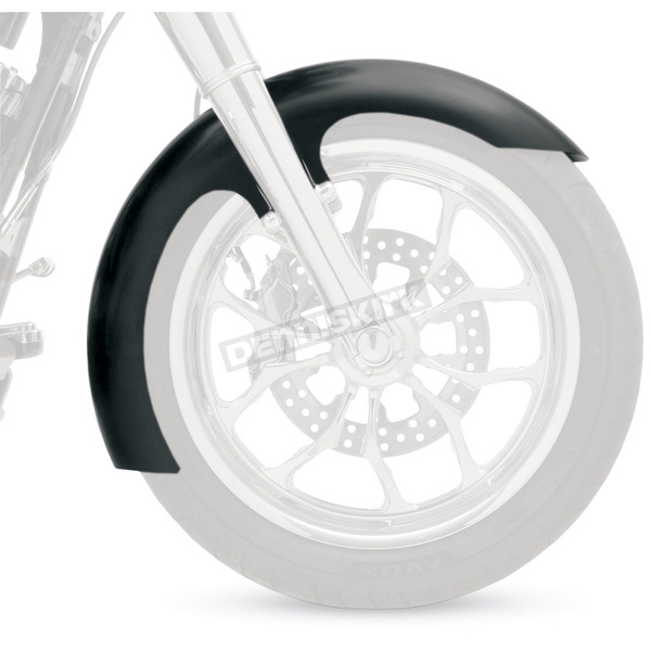 Klock Werks Slicer Tire Hugger Series Front Fender Kit with Powder Coated Blocks for 16-18 Inch Wheels - 1402-0336