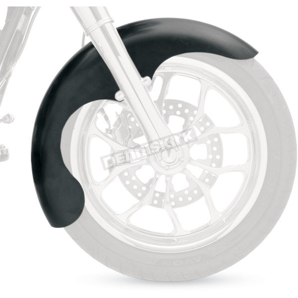 Klock Werks Swoop Tire Hugger Series Front Fender for 16 in., 17 in. & 18 in. Wheels - 1401-0263