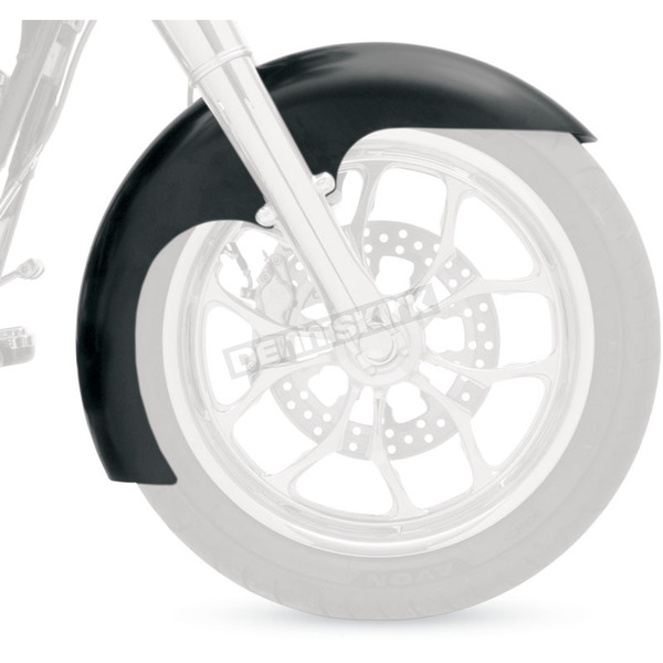 Klock Werks Level Tire Hugger Series Front Fender for 16 in., 17 in. & 18 in. Wheels - 1401-0236