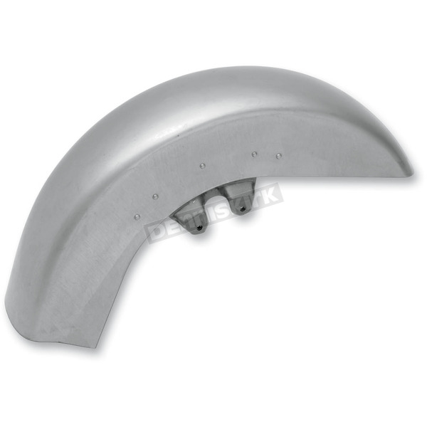 Drag Specialties Steel Front Fender w/o Trim Holes - 1401-0317