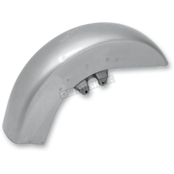Drag Specialties Steel Front Fender w/Trim Holes - 1401-0324