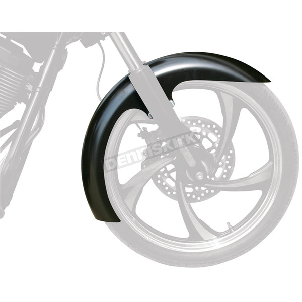 Klock Werks 21 in. Raw Slicer Tire Hugger Series Front Fender with Raw Blocks - 1402-0309
