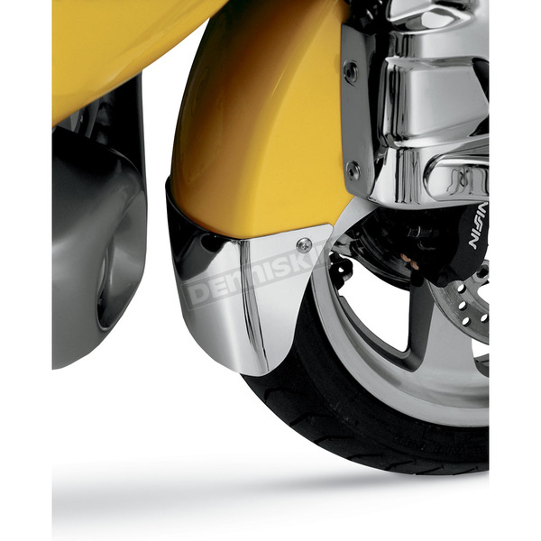 Show Chrome Chrome Front Fender Extension - Standard - 52-601A