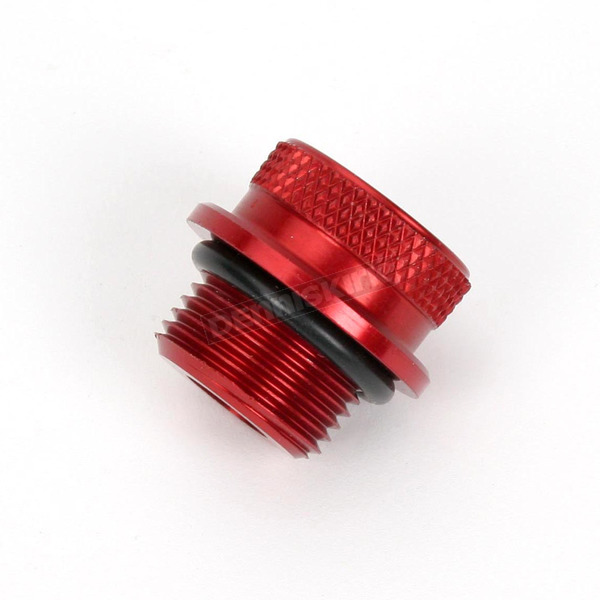 Pingel Billet Red Anodized Oil Filler Cap - 62300