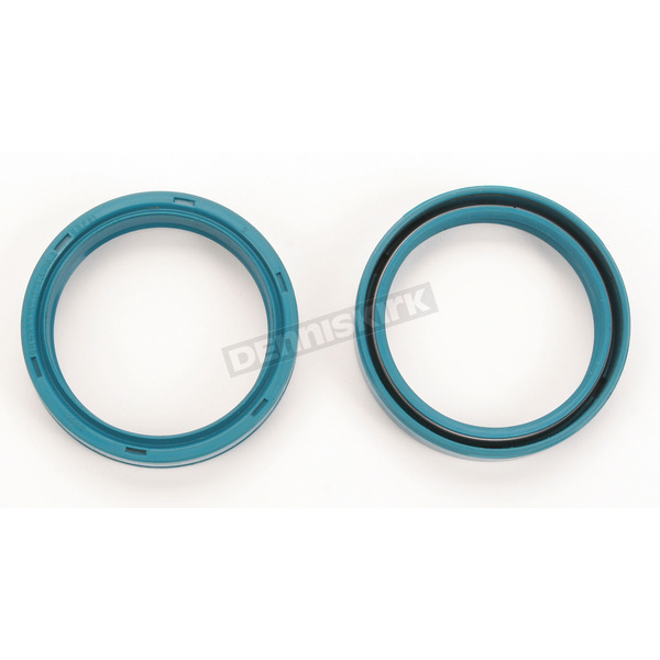 Parts Unlimited Fork Seals for White Power 43mm Fork Tubes 00-03 - 43mm x 52.7mm x 9.5/10.3mm - 0407-0023