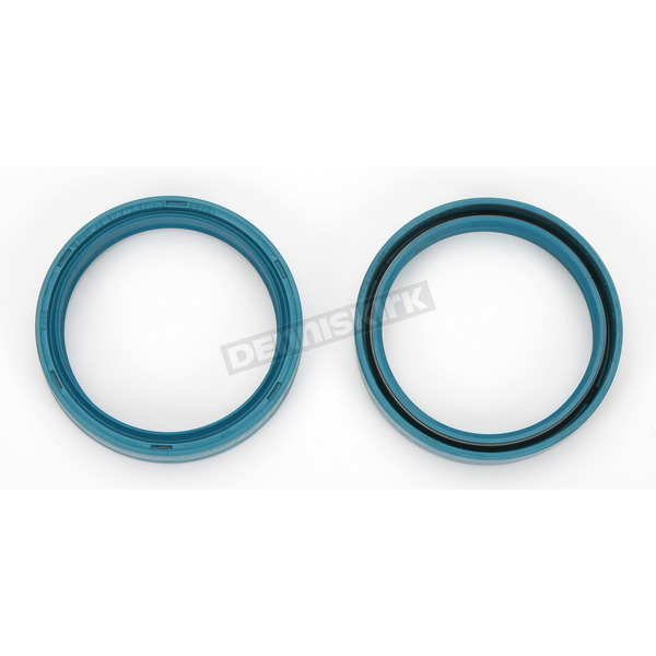 Parts Unlimited Fork Seals for White Power 48mm Fork Tubes - 48mm x 57.7mm x 9.5/10.3mm - 0407-0024