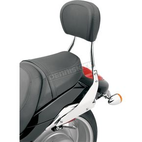 Cobra Short Round Sissy Bar w/Pad - 02-8601