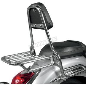 MC Enterprises Sissy Bar w/Plain Pad - 291-303