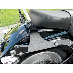 Motherwell Products Chrome Detachable Locking Side Plates w/Turn Signal Cutouts - SP1106
