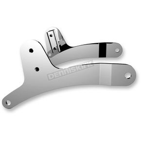 Drag Specialties Chrome Sissy Bar Side Straps - 1504-0050