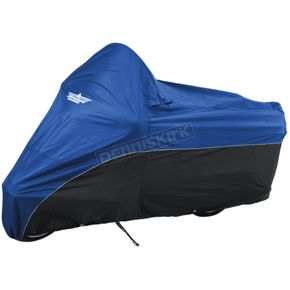 Blue/Black Motorcycle Cover - 4-472BB