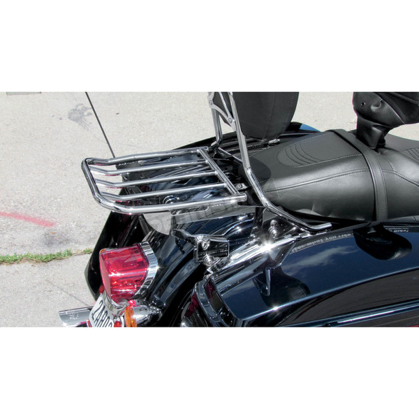 Motherwell Products Chrome Locking 2-Up Detachable Luggage Rack - MWL-428