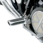 Chrome Deep Cut Comfort Footpegs - M-1150