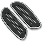 Chrome Streamline Passenger Floorboards - 1621-0349