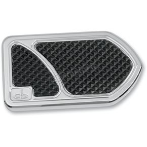 Carl Brouhard Designs Chrome Brake Pedal Cover - BP-0001-C