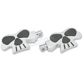 Drag Specialties Skull Footpegs - 1620-0466