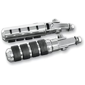 Rivco Chrome Anti-Vibration Highway Pegs - PEGS
