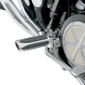 Arlen Ness Chrome Deep Cut Comfort Footpegs - M-1150