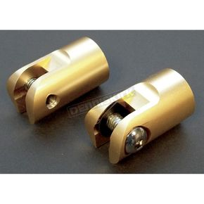 Accutronix Brass Footpeg Mounts - FPMT450-5