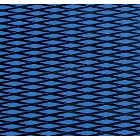 Hydro-Turf Blue/Black Diamond Groove Ridemat Material - SHT37CD2TBLBK