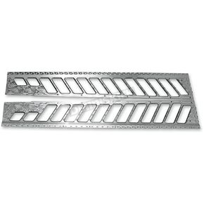 Race Shop Inc. Natural Billet Dumpers Running Board Traction - PF-2-N
