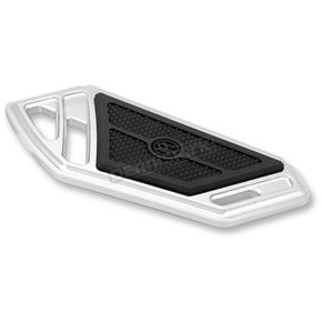 Performance Machine Chrome Superlight Passenger Floorboard - 0036-1015-CH