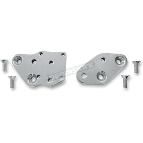 Accutronix Chrome Kick-Back Adapter Plates - 1 3/8 in. Back - FCKB103-C