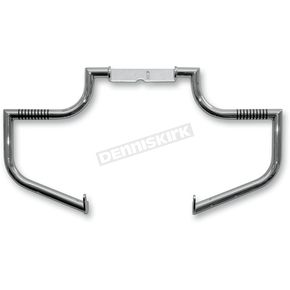 Lindby Custom The Linbar Chrome Highway Bar w/O-Ring Footrests - 912-1
