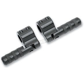 Black Anodized Clamp-On Footpegs - BL815