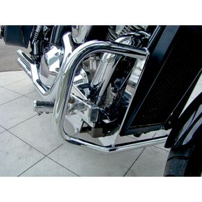 Baron Custom Accessories Full-Size Chrome Engine Guard - BA-7161-00