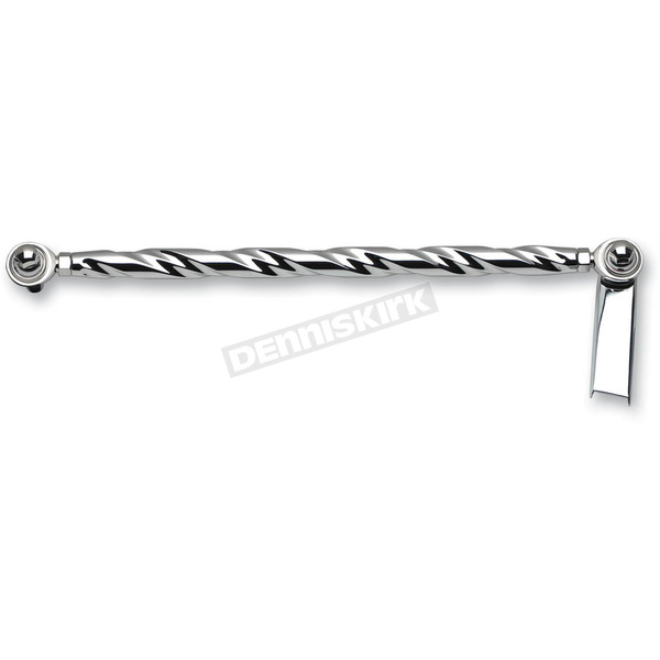 Landmark Chrome Fat Twist Billet Shift Linkage - LM301-5CH