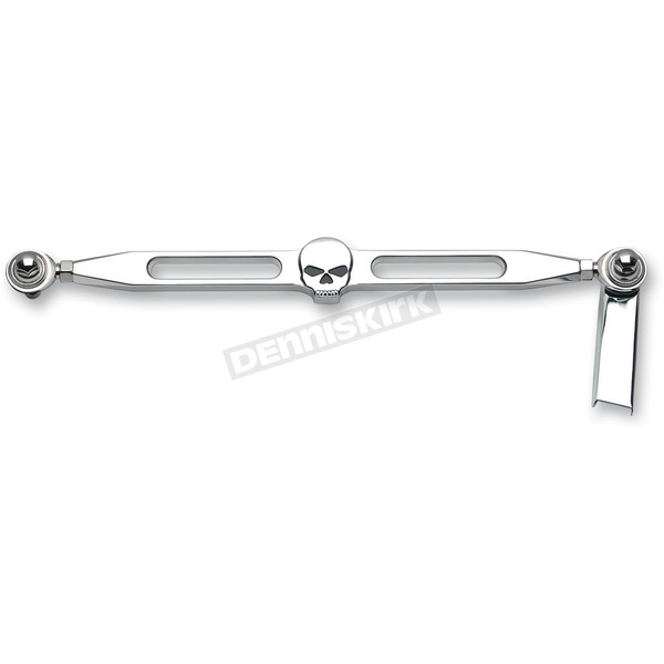Landmark Chrome Skull Billet Shift Linkage - LM301-15CH