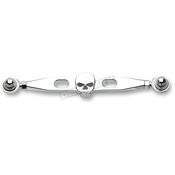 Landmark Chrome Skull Billet Shift Linkage - LM301-10CH