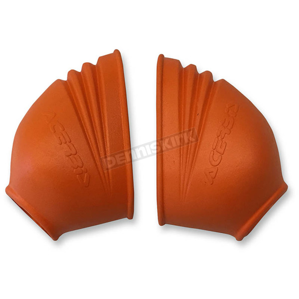 Acerbis Orange Footpeg Covers - 2106960036