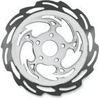 Front Chrome Savage Floating Two-Piece Brake Rotor - ZSS-BUSARF-85C