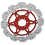 Front Red Vee Brake Rotor - VR614RED