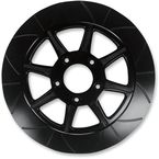 11.8 in. Rear Black Phoenix Lug-Drive Brake Rotor - NVLD-118RB08SA