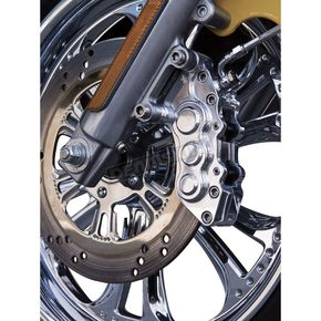 Jay Brake Enterprises Chrome Right Hand 300mm J-Six Extreme Six-Piston Front Brake Caliper - 3063262