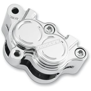 Arlen Ness Chrome Front Left Brake Caliper Housing - 02-840