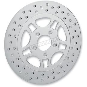Lyndall Racing Brakes 11.8 in. Triangulum Chrome Lug-Drive Brake Rotor - LD118FPT5SC