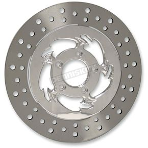 RC Components Chrome 11.5 in. Savage Rear Floating Two-Piece Brake Rotor - ZSSFL11785CLR2K