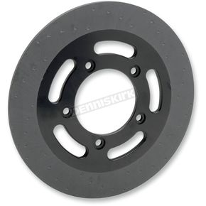Lyndall Racing Brakes 300mm Rear Black Lug-Drive Brake Rotor - NVLD-300RBVROA