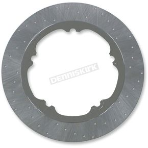Lyndall Racing Brakes 300mm Front Chrome Lug-Drive Brake Rotor - NVLD-300FCVROC