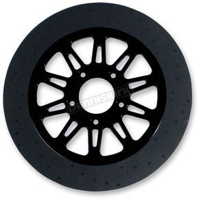 Lyndall Racing Brakes 11.8 in. Rear Black Omega Lug-Drive Brake Rotor - NVLD-118RB10SA