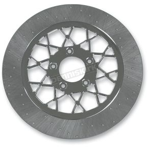 Lyndall Racing Brakes 11.8 in. Rear Chrome Gemini Lug-Drive Brake Rotor - NVLD-118RC20SC