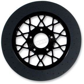 Lyndall Racing Brakes 11.8 in. Rear Black Gemini Lug-Drive Brake Rotor - NVLD-118RB20SA