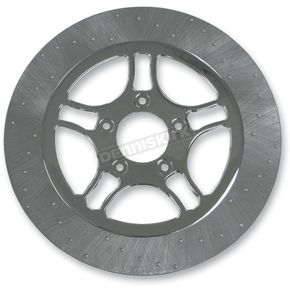 Lyndall Racing Brakes 11.5 in. Front Chrome Triangulum Lug-Drive Brake Rotor - NVLD-115FCT5SC