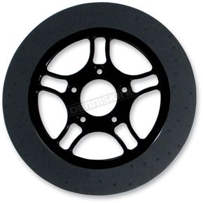 Lyndall Racing Brakes 11.8 in. Front Black Triangulum Lug-Drive Brake Rotor - NVLD-118FBT5SA